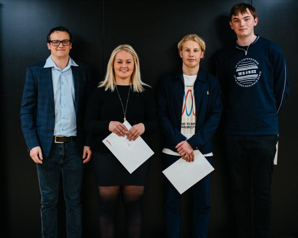 Elever fik eksamensbevis på Syddansk Universitet