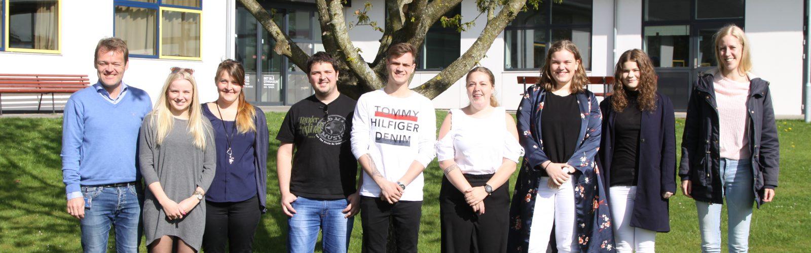 Afslutning for EUD Studenterne