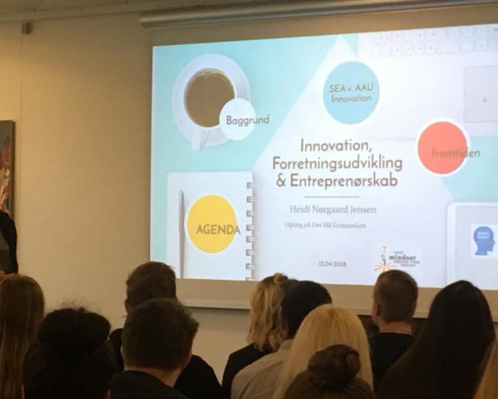 Oplæg om innovation og forretningsudvikling